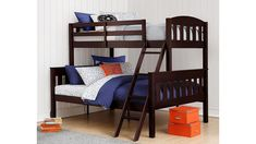Bunk Bed With Trundle, Full Bunk Beds, Bunk Beds With Stairs, Kids Bunk Beds, Loft Beds, Solid Wood Bunk Beds, Modern Bunk Beds, Modern Bedding, Bedroom Modern