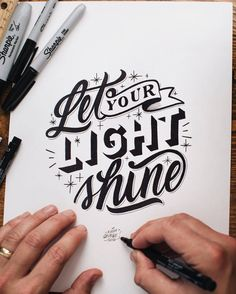 Hand lettering is one of the biggest craft trends of the moment and it doesn't ...
