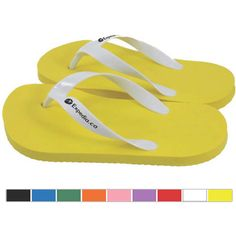 Zori Flip Flops...Traditional Flip Flops Zoris made from EVA foam and phthalate free with vinyl straps. Made in Canada