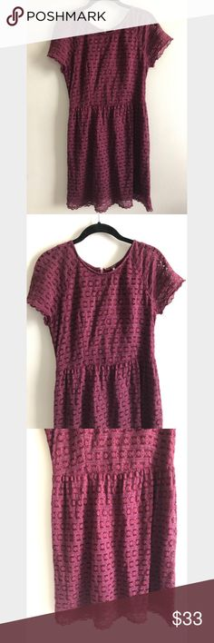 Shop Women's Free People Red size 6 Mini at a discounted price at Poshmark. Description: EUC layered mini dress with lace front from Free People. Plus Fashion, Fashion Tips, Fashion Design, Fashion Trends, Dress Lace, Free People Dress, Short Sleeve Dresses, Stylists, Mini