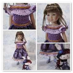 Purple Princess dress for Heartstring Mari | Flickr - Photo Sharing!