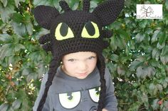How to Train your Dragon Toothless hat by Thatscrocheted on Etsy