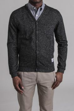 Heather French Terry Cardigan