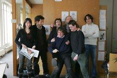 """L'équipe de """"Charlie Hebdo"""" en, 2006"""