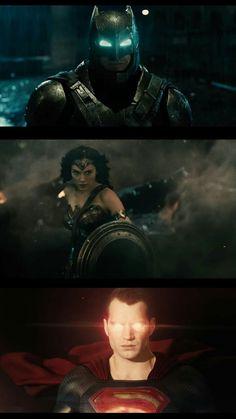 Superman, Batman, Dc Trinity, Dawn Of Justice, Marvel Dc Comics, Dc Universe, Comic Art, Avengers, Wonder Woman