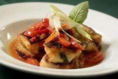6 chefs comparten sus recetas de pescado y aseguran que las podés preparar en casa  Pescado con vegetales frescos.