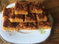 Healthy Apricot Slice