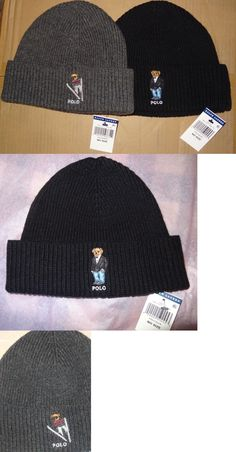 63b79097b7ca0 Hats 52365  Nwt New Polo Ralph Lauren Bear Logo Cuffed Knit Skull Cap Hat  Beanie Rare -  BUY IT NOW ONLY   39.88 on  eBay  ralph  lauren  cuffed   skull   ...