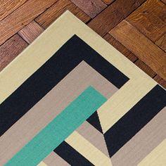 Tapis en collection, Casa Lopez, modèle Pap, à rayures, dessin géométrique, casalopez.com