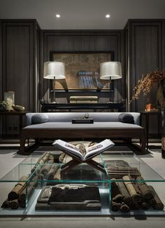 """Gray, a color often associated with motionlessness and dullness, has fast grown in popularity amongst stylists. In fact, Pantone has selected """"Sharkskin"""" as a gray color trend for this season.  #interiordesign #homedecor #luxuryinteriors #contemporarydesign http://bocadolobo.com/blog"""