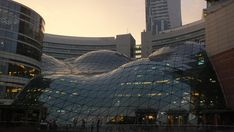 Złote Tarasy, a shopping mall in Warsaw, Poland [3264x1840] [OC] : ArchitecturePorn
