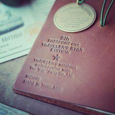 Traveler's Notebook Datr Ferry edition.