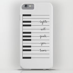 Coldplay Piano Fix You iPhone & iPod Case