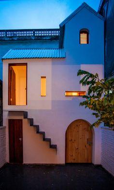 "KN House by Adrei-studio Architecture ""Location: Tứ Liên, Tây Hồ, Hanoi, Vietnam"" 2013"