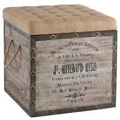 Aidan Gray Furniture Storage Cube AGF140BPL