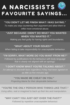 Oh my Goddddd I have heard these so many times. So what is passive-aggressive behaviour? And how does it cross the line into being narcissistic … or is passive-aggressive behaviour simply narcissistic anyway? Narcissistic People, Narcissistic Behavior, Narcissistic Abuse Recovery, Narcissistic Sociopath, Sociopath Traits, Narcissistic Men Relationships, Narcissistic Husband, Narcissistic Children, Ptsd Recovery