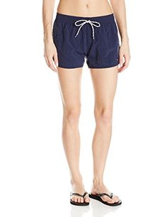 Tommy Hilfiger Women's Color Block Board Short, Core Navy, X-Small Tommy Hilfiger http://www.amazon.com/dp/B00O5WNU88/ref=cm_sw_r_pi_dp_AlCWvb129CS9Q