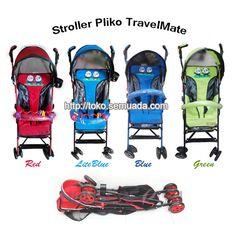 BABY STROLLER : JUAL STROLLER PLIKO TRAVELMATE