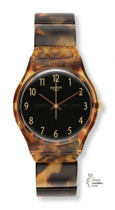 Swatch Tortoise Shell Watch