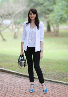 Look do dia: Blazer branco