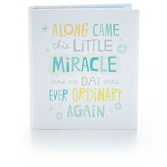 Little Miracle Baby Boy Memory Book This modern baby boy memory book makes it easy to record baby's first steps, words and more. It also includes a pocket sleeve for saving special mementos and souvenirs. New Baby Quotes, Little Boy Quotes, Baby Sayings, Mom Quotes, Baby Brother Quotes, Newborn Quotes, Mother Quotes, Funny Quotes, Baby Record Book