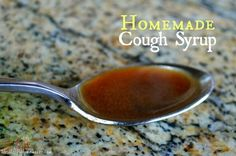 Homemade Cough Syrup - Just 3 Simple Natural Ingredients that you probably already have in your pantry.