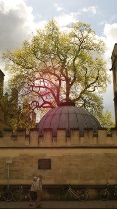 #Oxford a stunningly beautiful place.