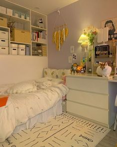 Small Room Design Bedroom, Room Ideas Bedroom, Study Room Decor, Deco Studio, Pastel Room, Indie Room, Minimalist Room, Cozy Room, Aesthetic Bedroom