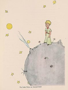 """""""The Little Prince""""    exhibit at Morgan Library"""