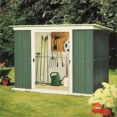 8ft x 4ft pent metal shed 245m x 128m - Garden Sheds 6ft By 4ft