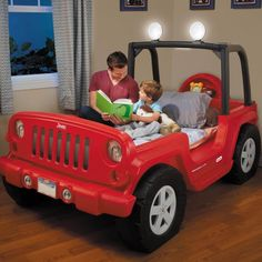 Best Cool Jeep Bed Toddler Twin Bed 400 x 300