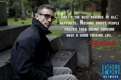 Chuck Palahniuk on revenge.   Interesting Quotes That Will Change How You See The World
