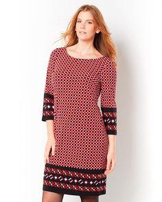 Taillissime Mønstret kjole i fargene Mønstret innen $GenderDepartment - Kjoler - La Redoute