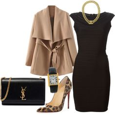 Elegance Collection by nicklos on Polyvore featuring polyvore, fashion, style, Hervé Léger, Christian Louboutin, Yves Saint Laurent, Cartier and Chanel