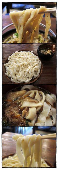 Ozara, Tsukemen Dipping Noodles from Yamanashi, Japan おざら