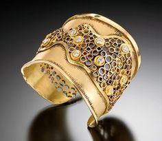 Colier din aur cu diamante by Judith Kaufmann