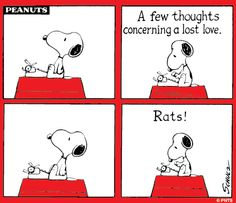 Snoopy, the writer.