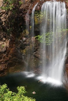 My favourite place as a kid! Florence Falls, Litchfield National Park, Australia