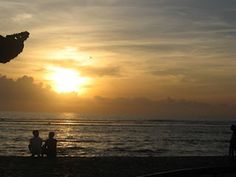 Indonesia Travel Sindhu Beach, one of the attractions in Bali, located in the city of Denpasar middle, very strategically located only about 15 minutes drive from Denpasar city center and 30 minutes from Ngurah Rai airport, precisely in the village of Sindu, Sanur Bali, Denpasar, Tourist Places, Attraction, Middle, Sunset, City, Beach, Travel