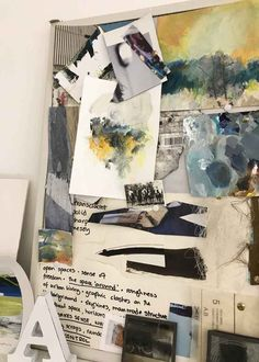 How to create a mood board for your art - Alice Sheridan Collage Drawing, Art Drawings, Drawing Tips, Collage Art, Sketchbook Inspiration, Art Sketchbook, Collage Background, Creative Workshop, Sense Of Place