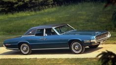 Ford Thunderbird Glamor Birds - 1967-71 - autobild.de