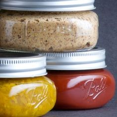 How to Make Your Own Condiments - great list includes mustard, ketchup, mayo, chili sauce and more.