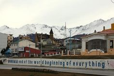 Town of Ushuaia, Tierra del Fuego, Argentina [the southernmost city in the world]. Stayed here several days before boarding ship to Antarctica. Most amazing adventure I have ever been on. And would love, love, love to do it all over again!