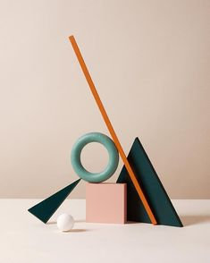 Flat Lay Photography, Conceptual Photography, Still Life Photography, Art Photography, Arco Floor Lamp, Prop Styling, Still Life Art, 3d Design, Geometry