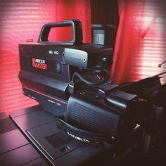 Minolta master.  Still works!  Saw Videodrome for the first time last night #80s #vhs #camcorder #vintagecamera #minoltamaster #analog #homevideo #homedecor #theghostinthemachine