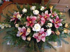 b7255810d Smutocna Dekoracia 67cm-predané / anad333 | Dusicky, pamiatka zosnulých, smútočné  dekorácie-sight deceased,All Souls Day-Grabstein | Wreaths, Floral a Home  ...
