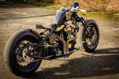 Harley-Davidson Sportster bobber #harleydavidsonfatboyoldschool