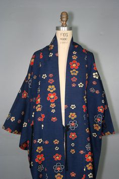 vintage linen haori