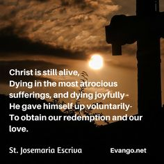 A thought for Wednesday of Holy Week and every day thereafter..