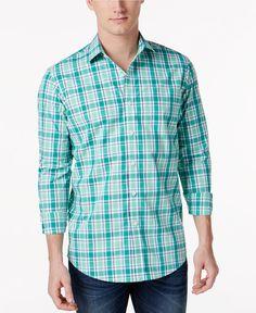 3638b796563 Club Room Men s Plaid Shirt